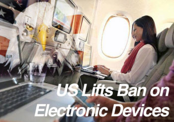 Electronic device ban lifted on Abu Dhabi-US flights