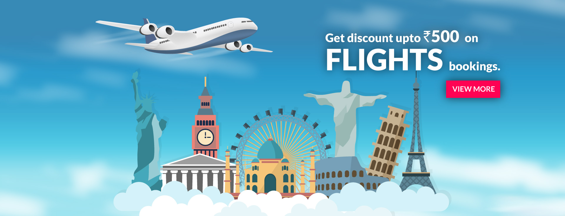 First Time Booking Offer